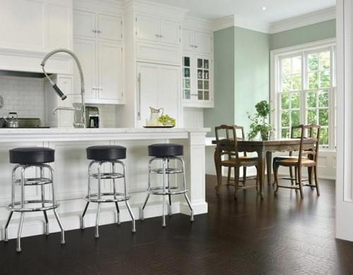 Кожаные полы для кухни