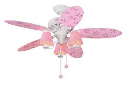 Потолочный светильник с вентилятором