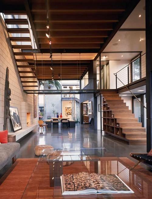 Полки-лестницы