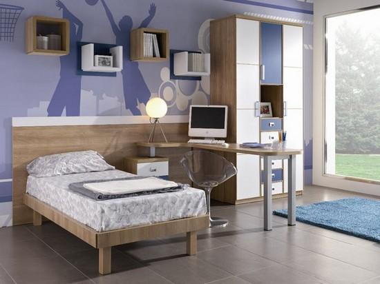 Интерьер комнаты для школьника