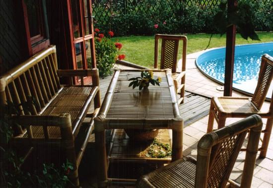 Мебель из бамбука