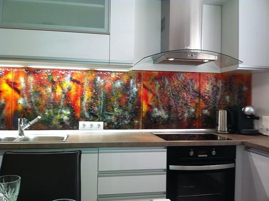 Мозаичная плитка для кухни