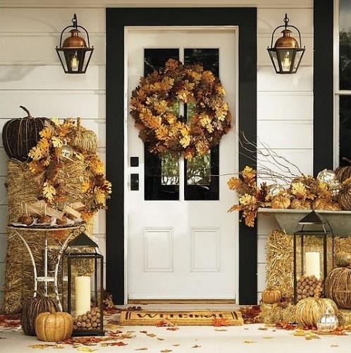 Осенний декор фото