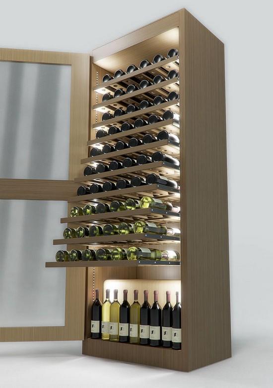 Холодильник с винным шкафом