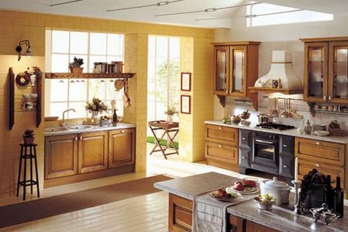 Интерьер кухни в итальянском стиле