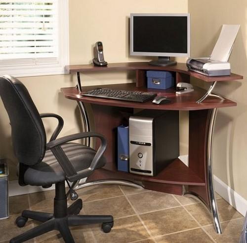 угловые компьютерные столы фото