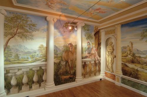 Цифровые фрески в интерьере