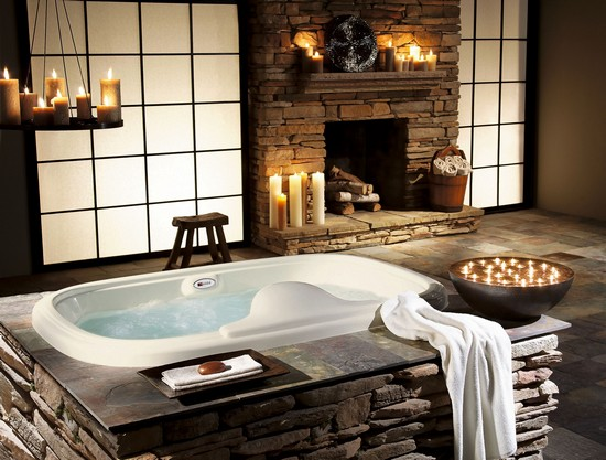 Гидромассажные ванны фото