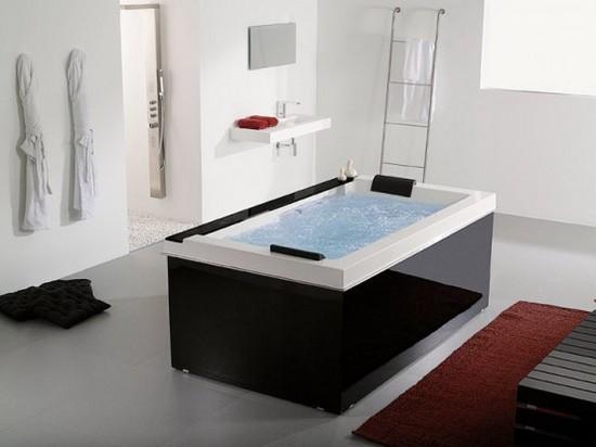 Гидромассажная ванна из мрамора