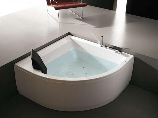 Угловые гидромассажные ванны