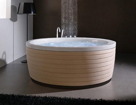 круглые гидромассажные ванны