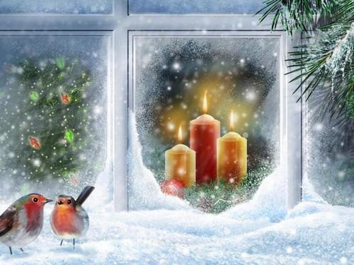 Новогоднее оформление окон