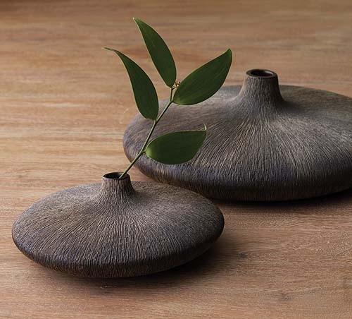 Ваза деревянная напольная