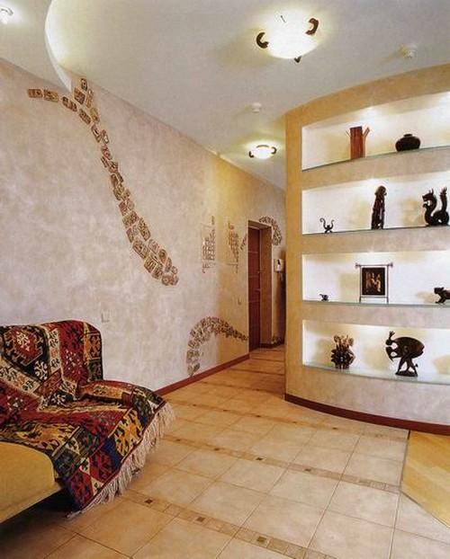 Дизайн ниши в стене