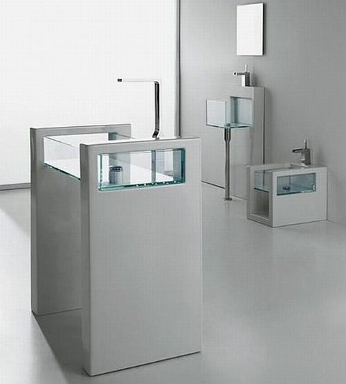 Использование стекла в интерьере