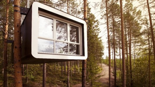 Отель на деревьях