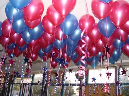 Украшение воздушными шарами - детский День Рождения