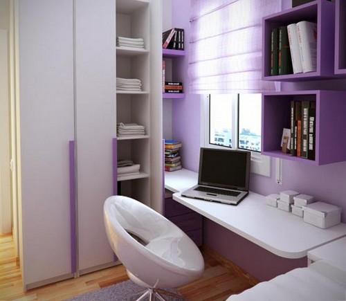 Маленькая детская комната в нише