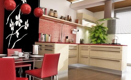 Кухня в восточном стиле