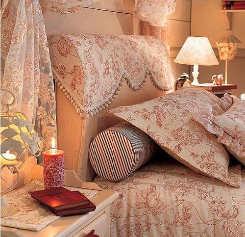 Интерьер спальни для влюбленных
