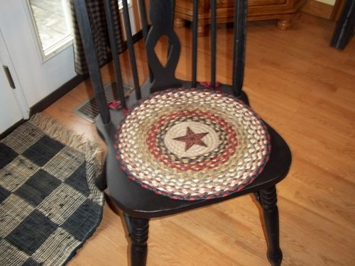 плетеные коврики фото