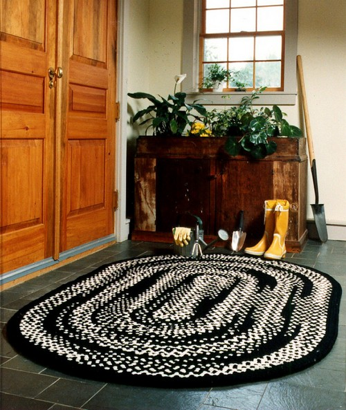 плетеные коврики своими руками