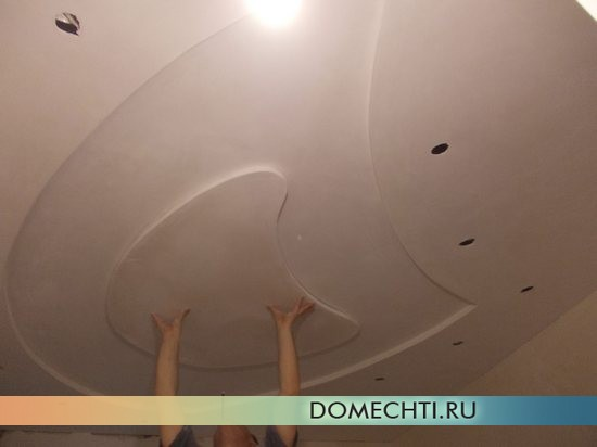 Гипсокартон монтаж потолка своими руками