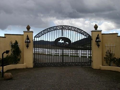 кованые ворота фотогалерея