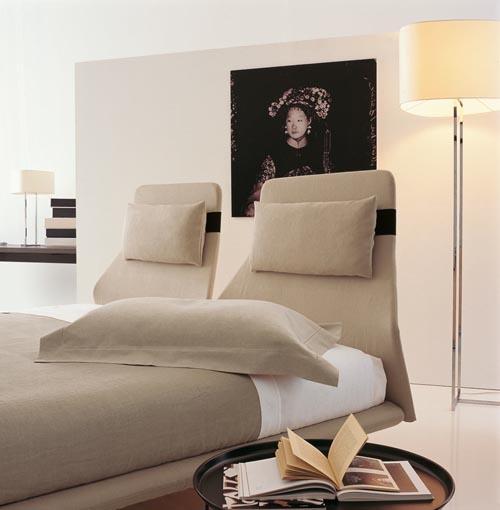 Кровать от дизайнера Патриции Уркиолы (Patricia Urquiola)