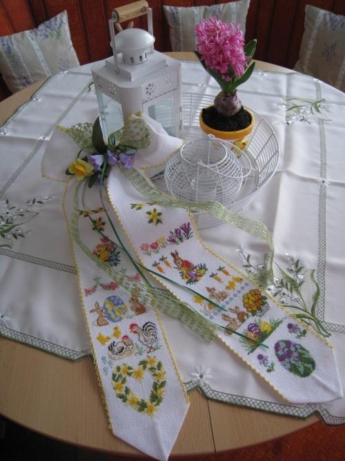 вышивка пасхальных рушников и салфеток