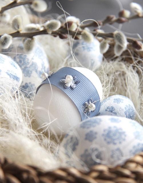 Декор к Пасхе 2012 своими руками - пасхальные яйца