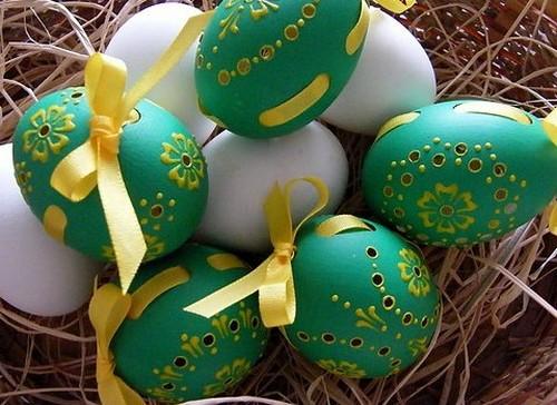 Декор к Пасхе своими руками - пасхальные яйца