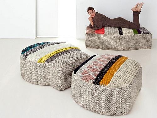 Вязаная мебель Патриции Уркиолы (Patricia Urquiola)