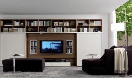 Модульные мебельные стенки для гостиной