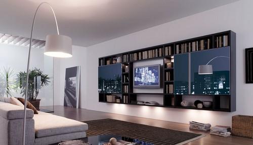 мебельные стенки для гостиных современные и классические