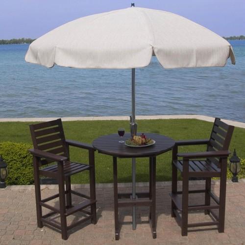 Набор летней мебели из пластика