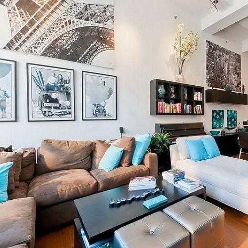 Квартира в поп арт стиле