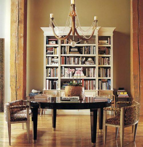 Мебель для интерьера в стиле сафари