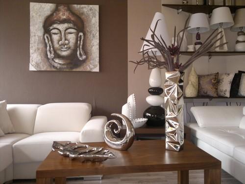 Интерьер комнаты в стиле сафари