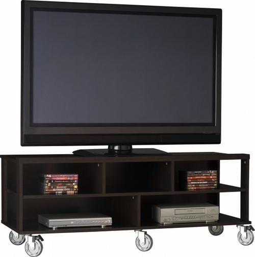 Тумба под телевизор на колесиках