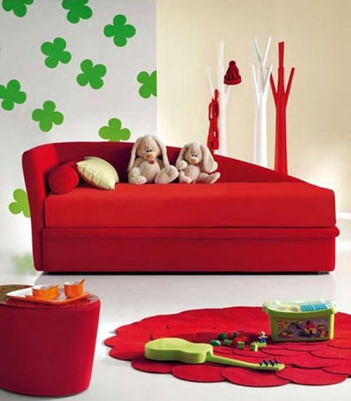 Красивые диваны для детской комнаты