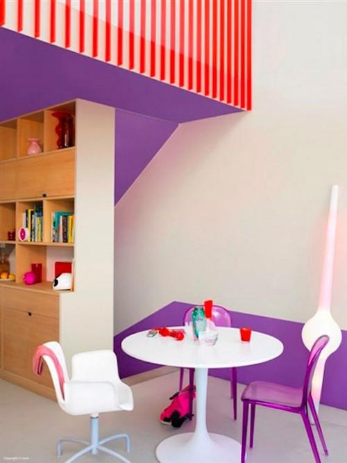 Сочетание и роль цветов в интерьере детской комнаты