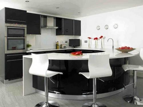 Барные стулья для кухни в современном стиле