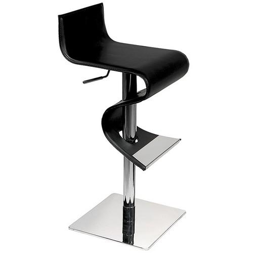 Современный барный стул со спинкой