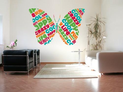 Фотопечать на стенах - декоративные наклейки