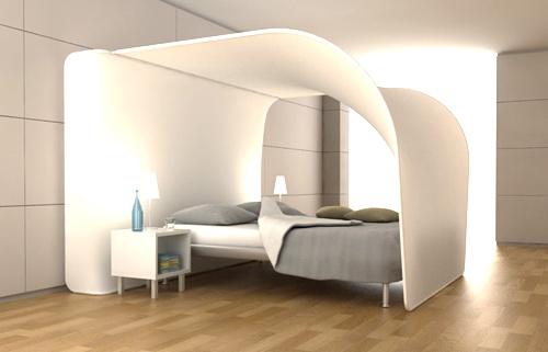 Кровать с балдахином фото