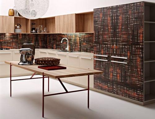 Дизайн кухонного фартука фото