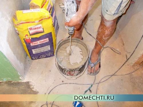Подготовка к укладке ламината