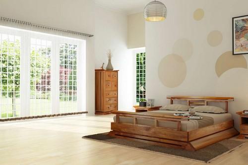 Дизайн спален в японском стиле