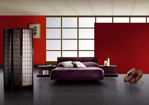 Спальный гарнитур для спальни в японском стиле
